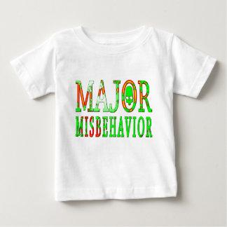 Major Misbehavior Baby T-Shirt