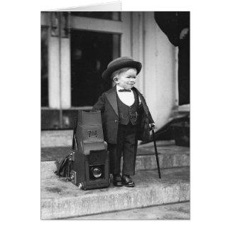 Major Mite, 1922 Card