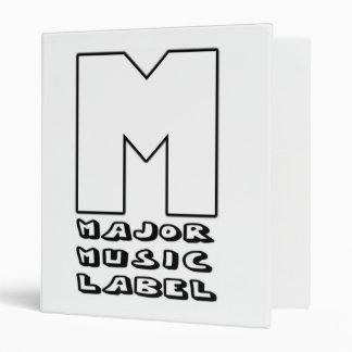 Major Music Label Binder