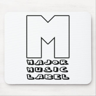Major Music Label Mouse Pad