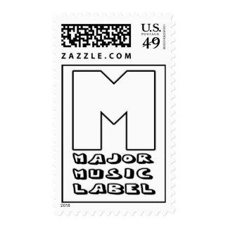 Major Music Label Stamps