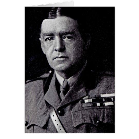 Major Sir Ernest Shackleton Card