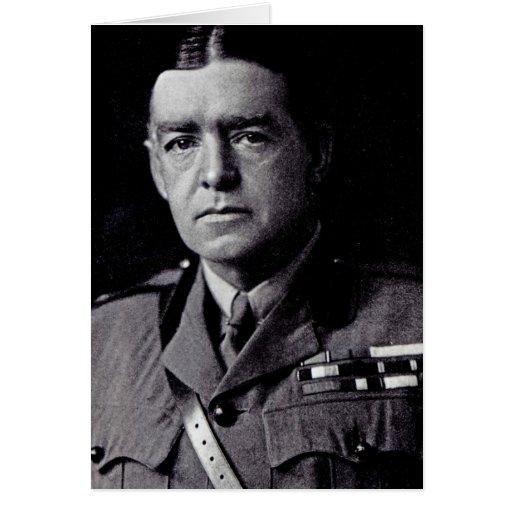 Major Sir Ernest Shackleton Greeting Card