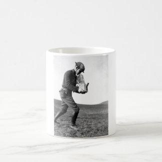 Major Steichen and Base Photo_War image Coffee Mug