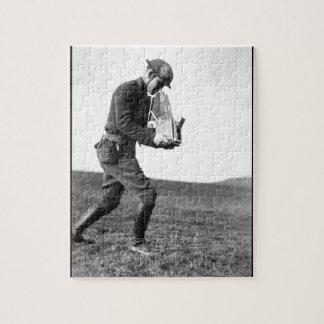 Major Steichen and Base Photo_War image Puzzle