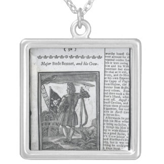 Major Stepe Bonnet, from 'Histories and Lives Square Pendant Necklace