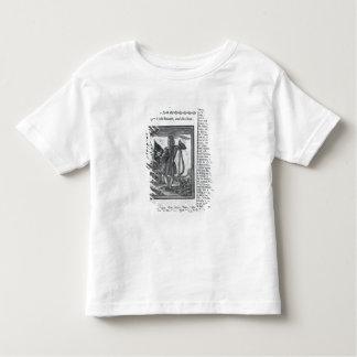 Major Stepe Bonnet, from 'Histories and Lives Toddler T-shirt