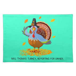 Major Thomas Turkey Placemat