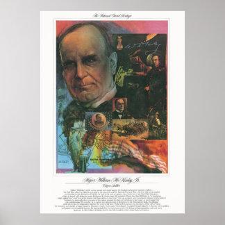 MAJOR WILLIAM McKINLEY JR Citizen Soldier Print