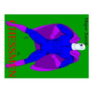 Major Xeroh postcard