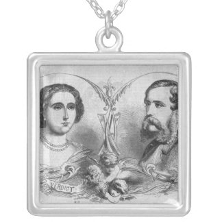 Major Yelverton and Teresa Longworth Silver Plated Necklace