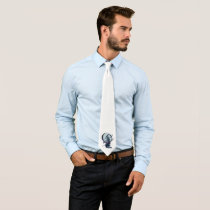 Majorah *basic white* neck tie