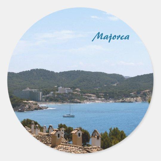 Majorca Classic Round Sticker