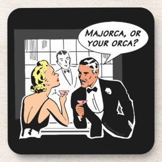 Majorca, or Your Orca? Beverage Coaster