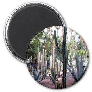 majorelle exotic plants magnet