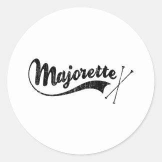 Majorette Classic Round Sticker
