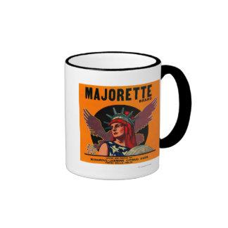 Majorette LabelTerra anaranjado Bella, CA Taza De Dos Colores