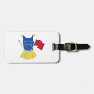 Majorette Uniform Tag For Luggage