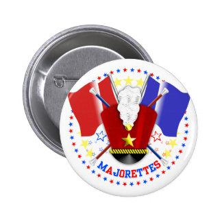 Majorettes Badge Pinback Button