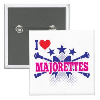 Majorettes Button