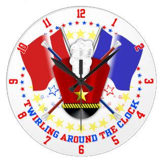 Majorettes Clock