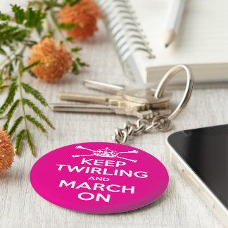 Majorettes Key Ring