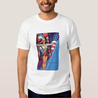MajoretteT-Camisa americana Playeras