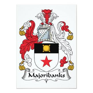 Majoribanks Family Crest Card