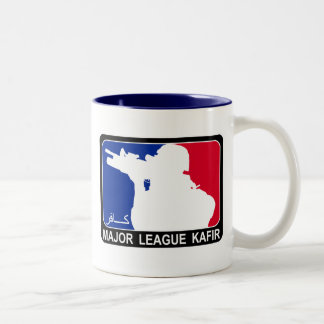 MajorLeague Kafir/Infidel Coffee Mug Two-Tone Mug
