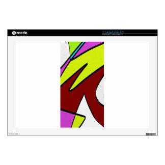 """Majuscules 17"""" Laptop Skin"""