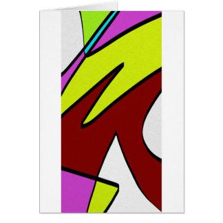 Majuscules Card