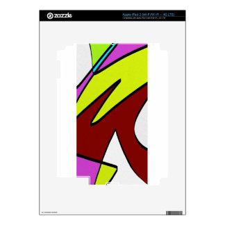 Majuscules iPad 3 Decals