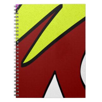 Majuscules Spiral Notebook