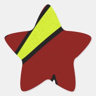 Majuscules Star Sticker