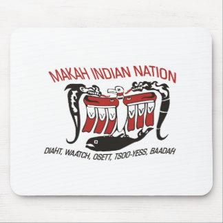 Makah Tribe Flag Mousepad