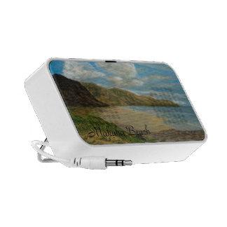 Makaha Beach Doodle iPod Speaker