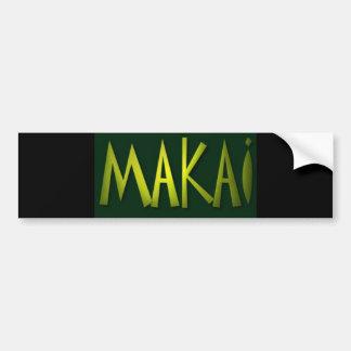 Makai Bumper Sticker