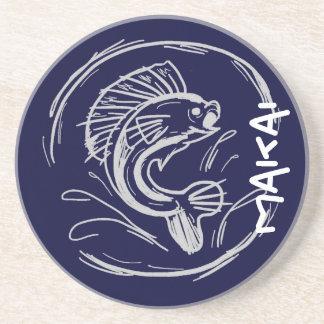 Makai toward the ocean hawaiian fish coasters
