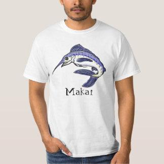 Makai toward the ocean hawaiian fish value tee