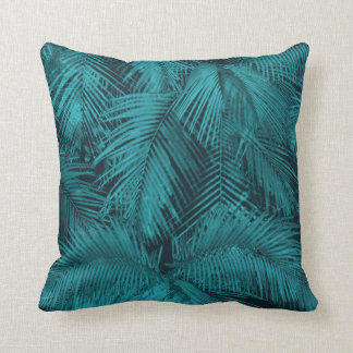 Makana Palms Hawaiian Tropical Square Pillows
