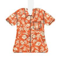 Makapuu Beach Hawaiian Batik Aloha Shirt Ornament