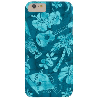 Makapuu Beach Hawaiian Batik Barely There iPhone 6 Plus Case