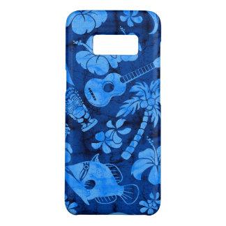 Makapuu Beach Hawaiian Batik Blue Case-Mate Samsung Galaxy S8 Case