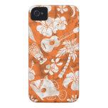 Makapuu Beach Hawaiian Batik iPhone 4 Cases