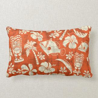 Makapuu Beach Hawaiian Batik Lumbar Pillows