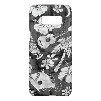 Makapuu Beach Hawaiian Charcoal Gray Batik Case-Mate Samsung Galaxy S8 Case