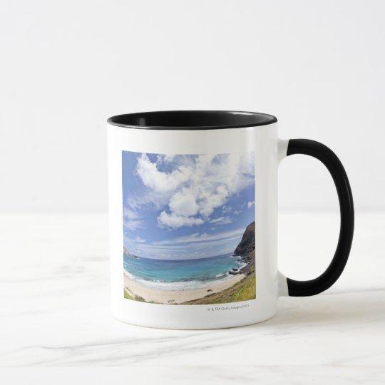 Makapuu Beach in Oahu, Hawaii. Mug