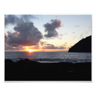 Makapuu Beach Sunrise Photo Print