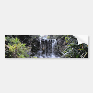 Makaroa Waterfall Bumper Sticker