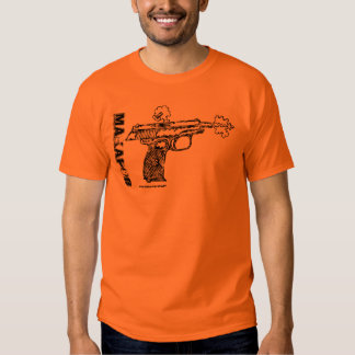 Makarov pistol graphic art cool gun t-shirt